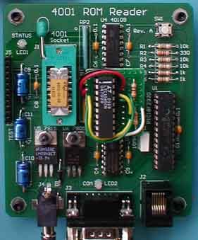 4001 ROM Reader