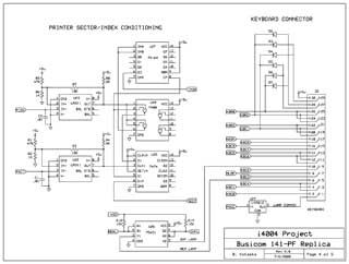 Busicom 141-PF Replica schematics 4 of 5