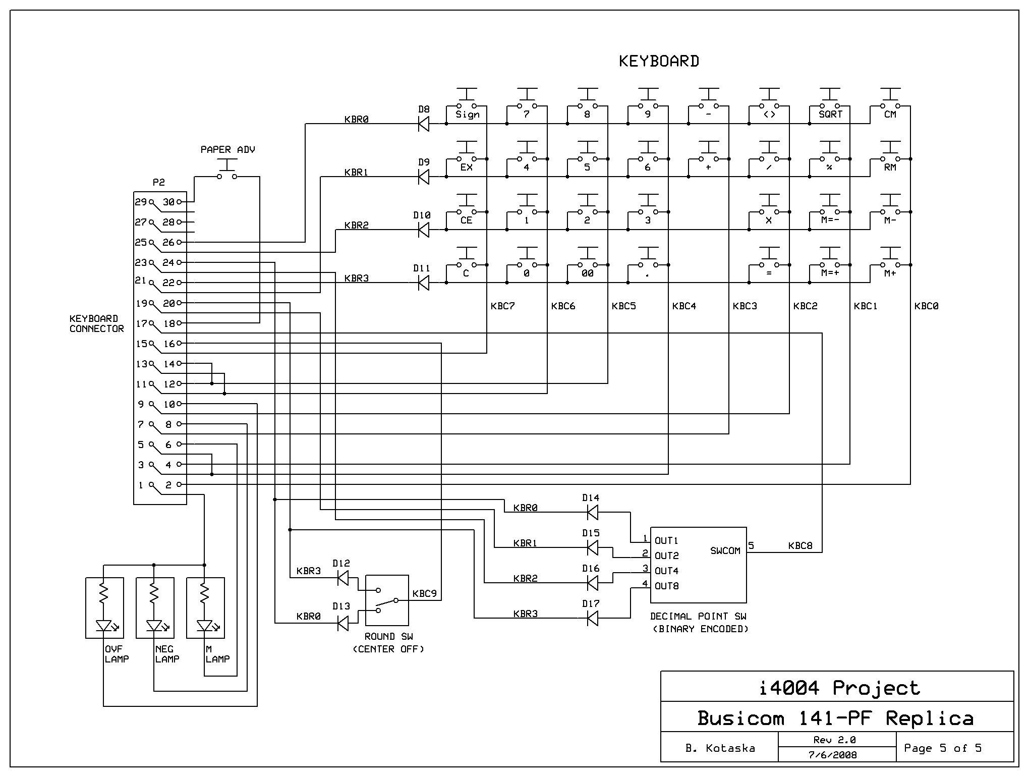 Bill Kotaska's schematic