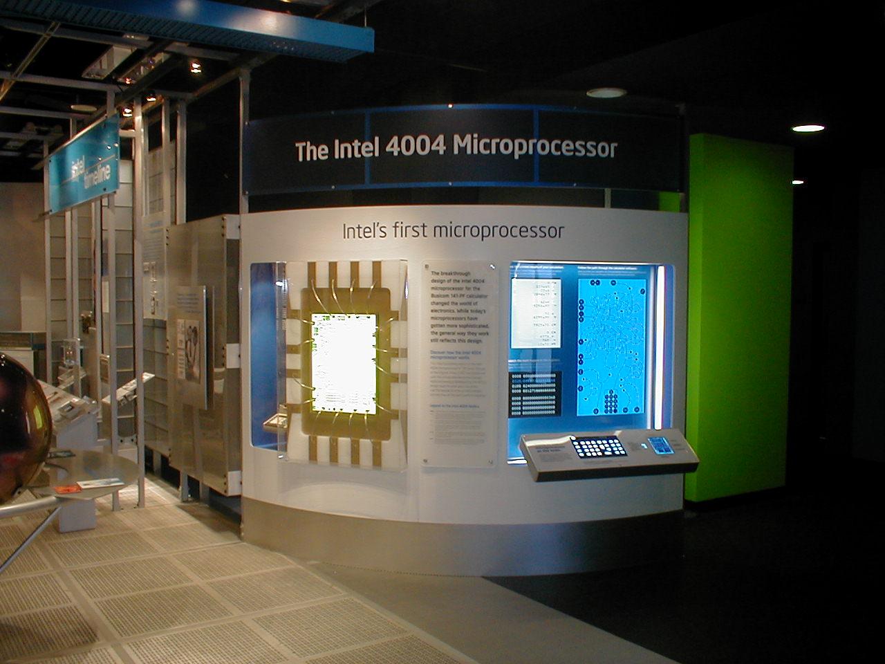 Intel 4004 50th Anniversary Project