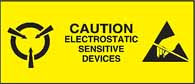 Caution Electrostatic Sensitive Devices