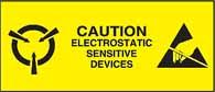 Caution Electrostatic Sensitive Devices